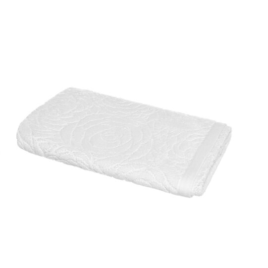 Portofino 100% cotton terry towel with English roses
