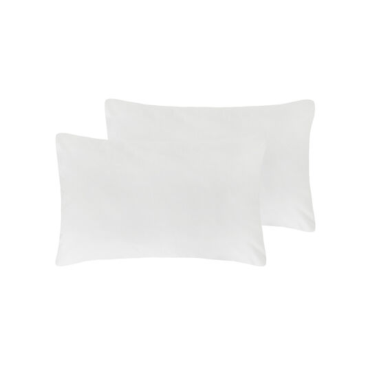 Pair of pillowcases in 100% cotton