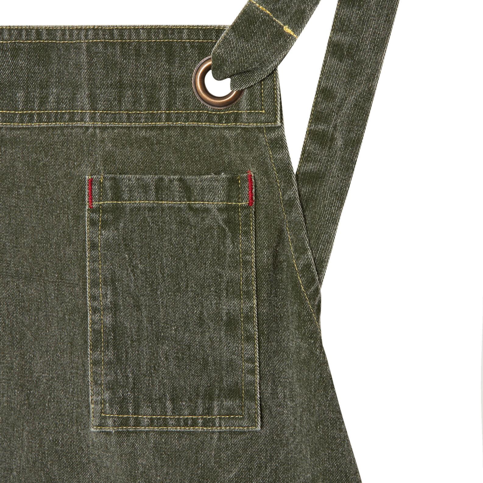 Kitchen apron in cotton denim