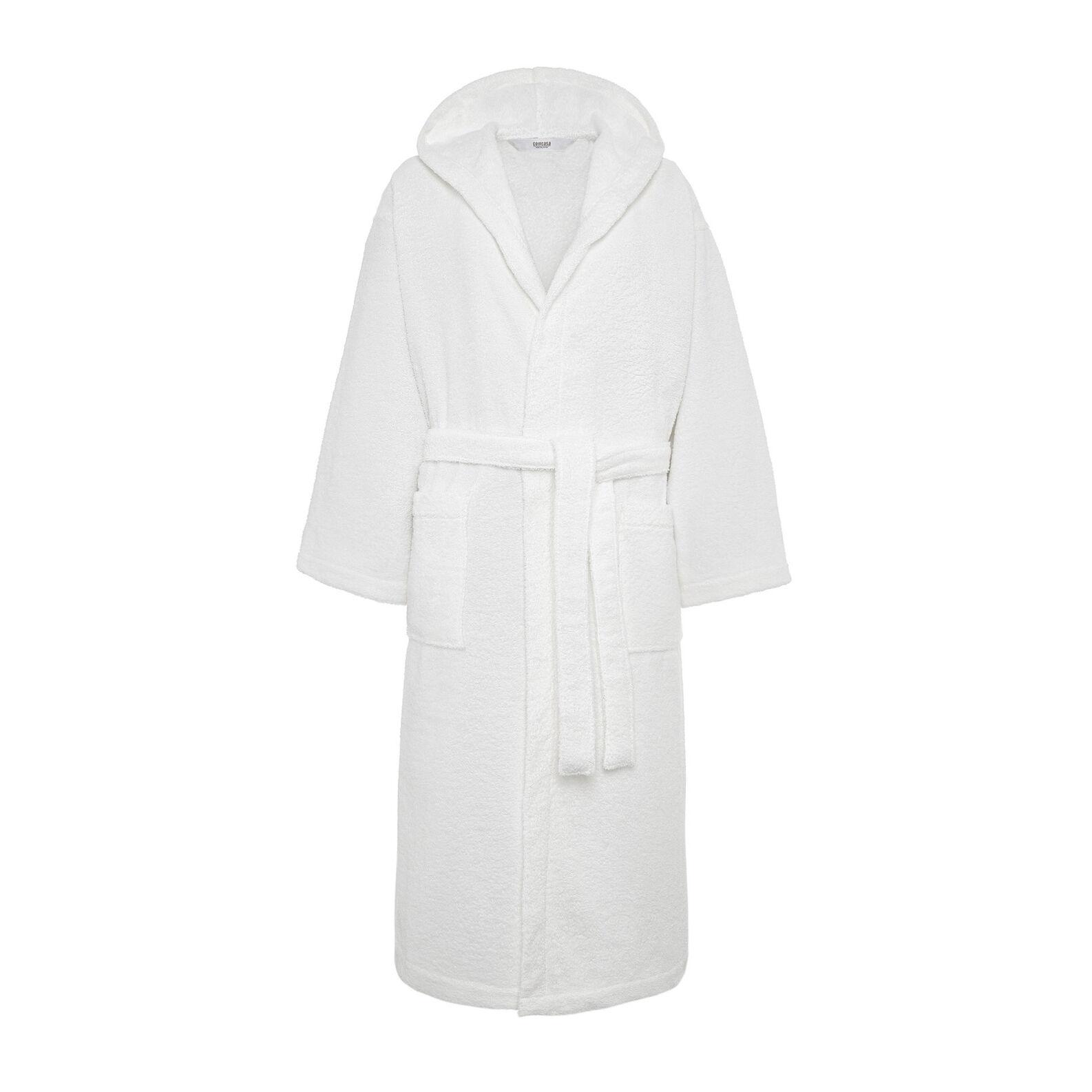 Solid colour 100% Egyptian cotton bathrobe