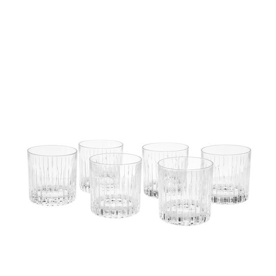 Set of 6 wine goblets in Timeless glass
