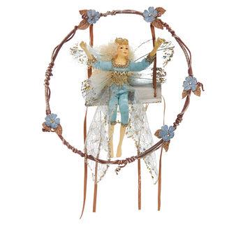 Hand-made fabric fairy