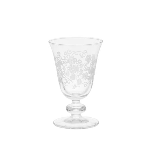 Provence glass wine goblet