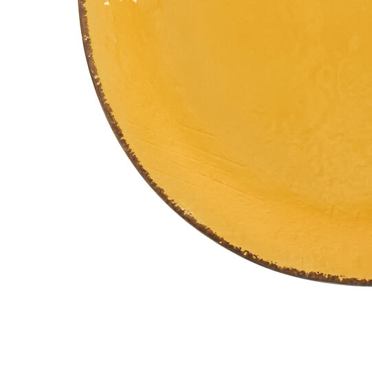 Piatto da portata ceramica fatto a mano