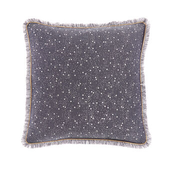 Jacquard starry sky cushion 45x45cm
