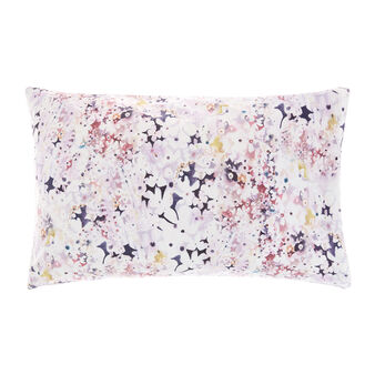 Pillowcase in 100% cotton percale with flowers