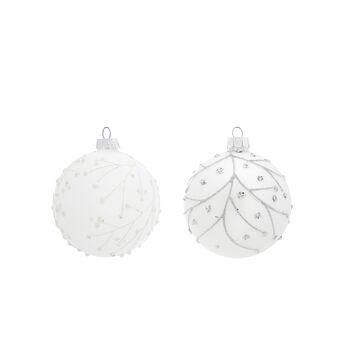 Sfera perline decorata a mano