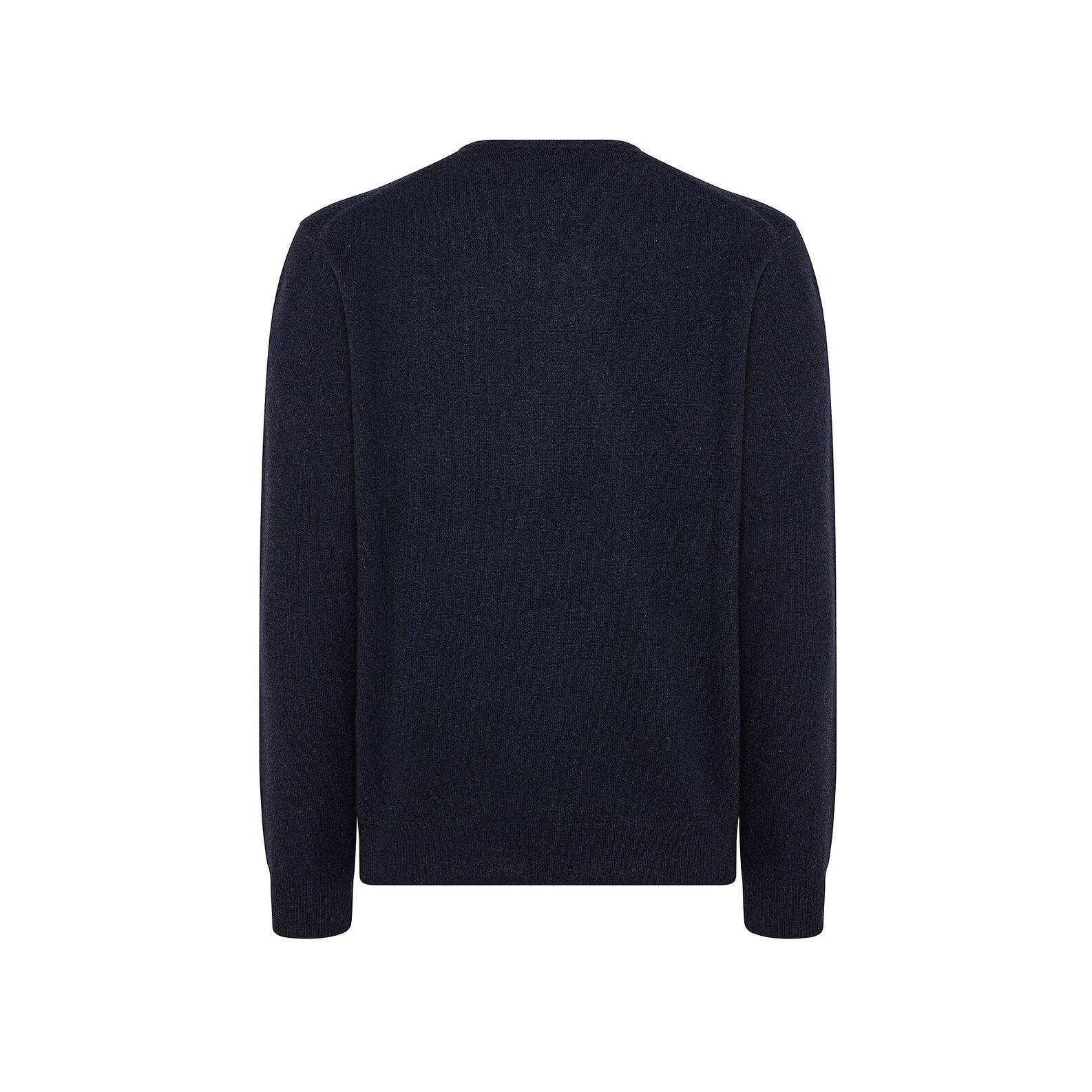 Pure cashmere V-neck pullover
