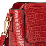 Koan croc print shoulder bag