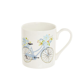 Mug fine bone china motivo bici