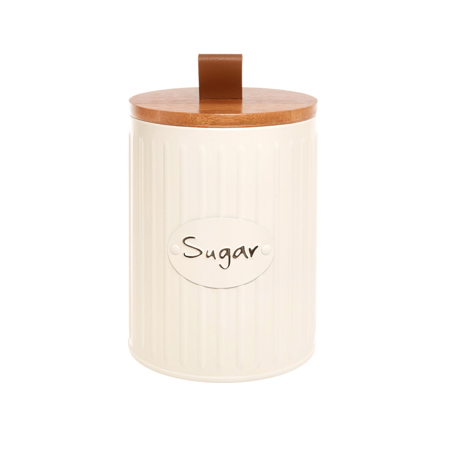 Enamelled metal Sugar tin