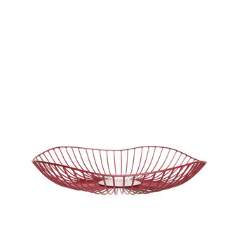 Enamel-coated aluminium basket