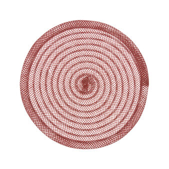 Solid colour woven table mat
