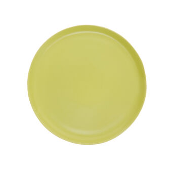 Hard opaque ceramic plate
