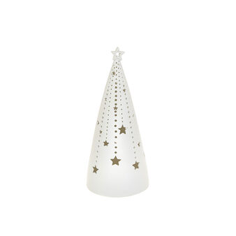 LED tree in openwork porcelain