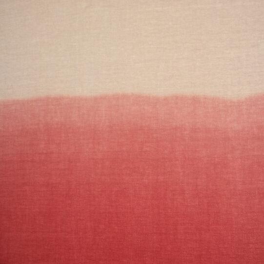 Plaid puro lino tinto filo degradé