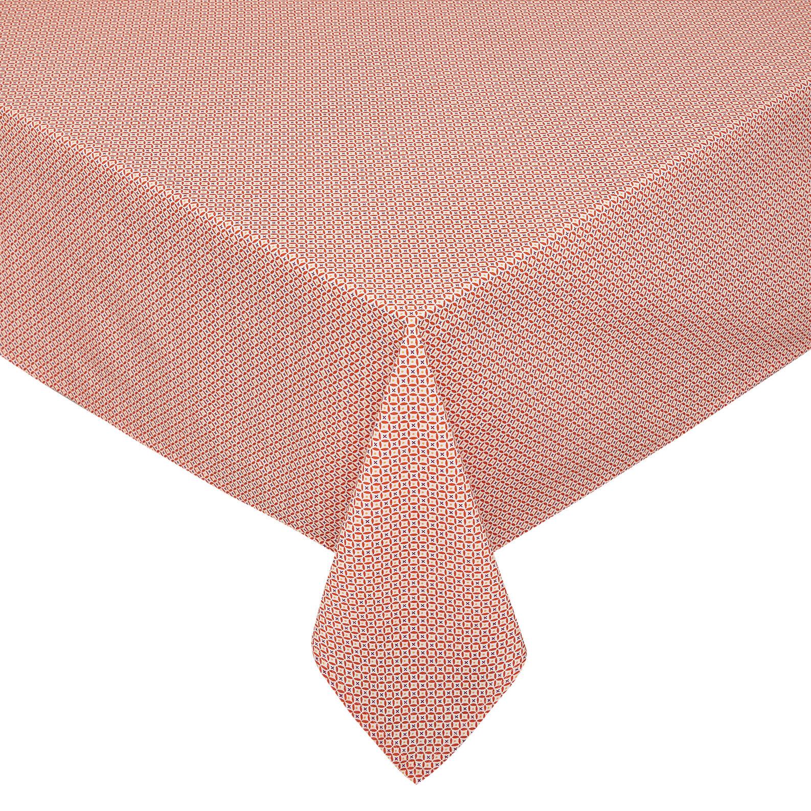 Tovaglia puro cotone stampa diamanti