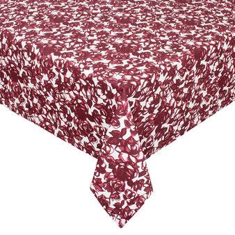 Tovaglia puro cotone stampa rose