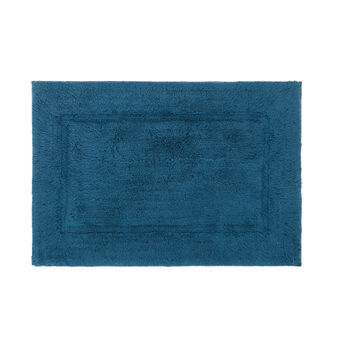 Bath mat in solid colour cotton