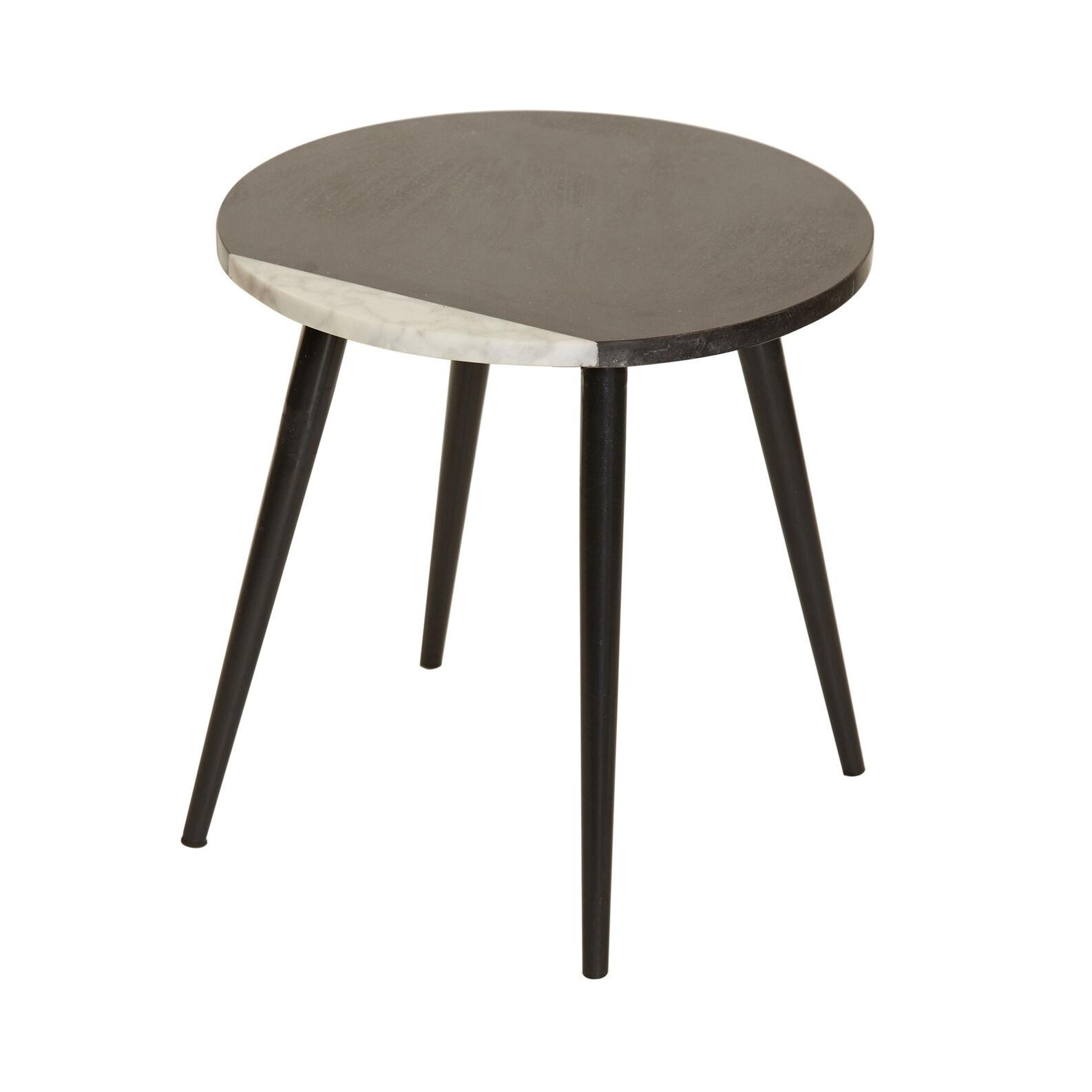 Tavolino in marmo Black Eclipse