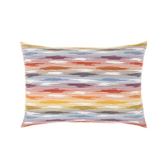Cushion in faded-effect cotton 35x55cm