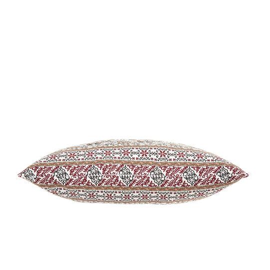 Cuscino rettangolare cotone stampa mandala