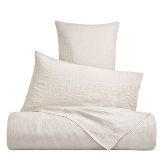 Plain 145 g linen duvet cover