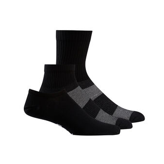 Set of 3 active foundation ankle socks