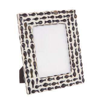 Handmade ceramic photo frame