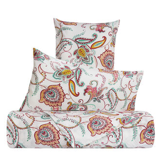 100% cotton percale floral bed linen set