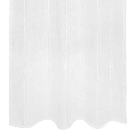 Tenda misto lino con applicazioni