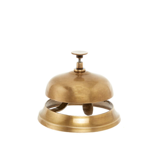 Hand-finished service bell
