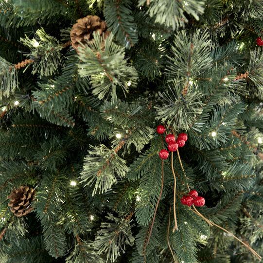 Pinecone Christmas Tree 450 LEDs H210cm
