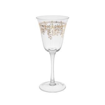 Calice vino vetro decoro stile arabo