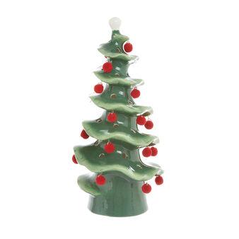 Ceramic LED tree with decorations