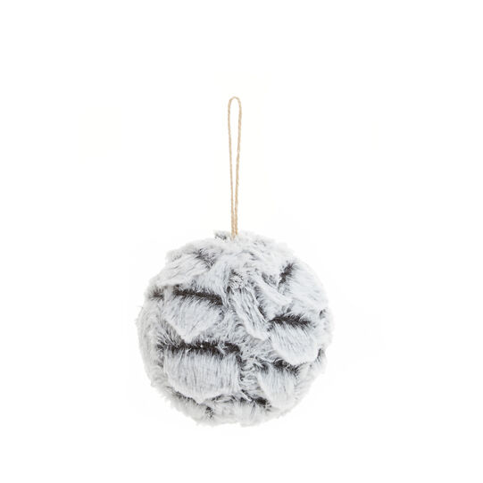 Fake fur bauble