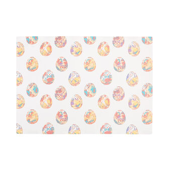 100% cotton table mat with Easter print