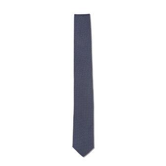 Cravatta pura seta motivo geometrico