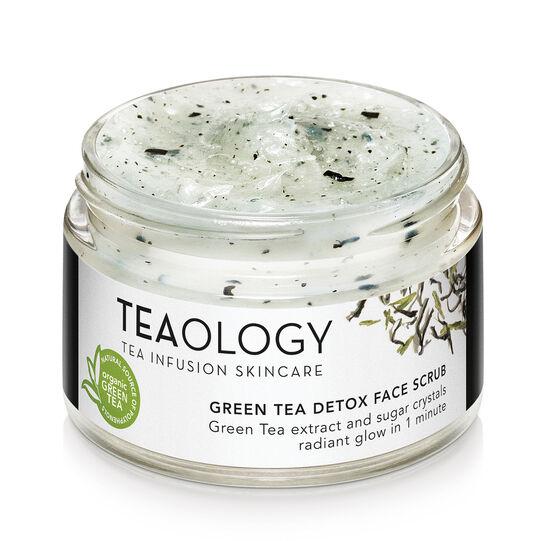 Teaology Green Tea Detox Face Scrub 50 ml