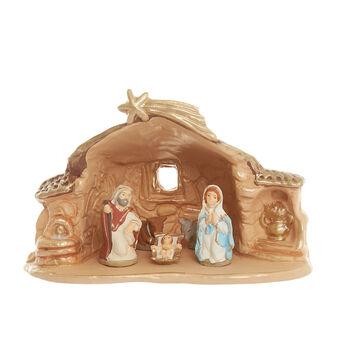Terracotta nativity scene Made in Italy