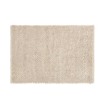 Tappeto bagno misto cotone e ciniglia