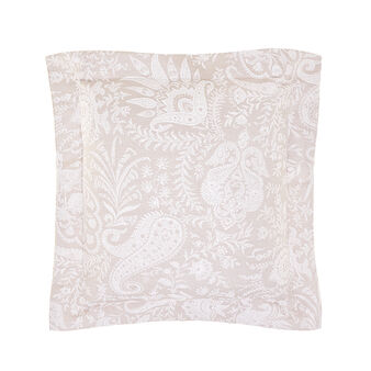 Portofino cushion with paisley pattern
