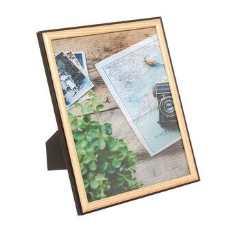 Portafoto in legno bicolore