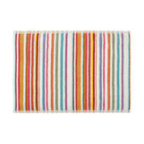 Yarn-dyed striped cotton towel