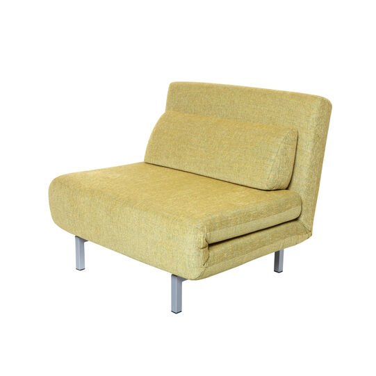 Fabric armchair bed