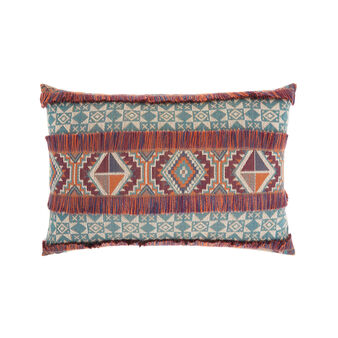 Cushion with kilim design 35x55cm