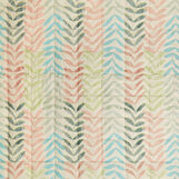 Organic cotton quilt with leaf pattern