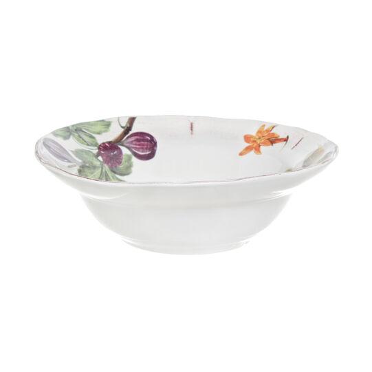 Grenade painted ceramic salad bowl