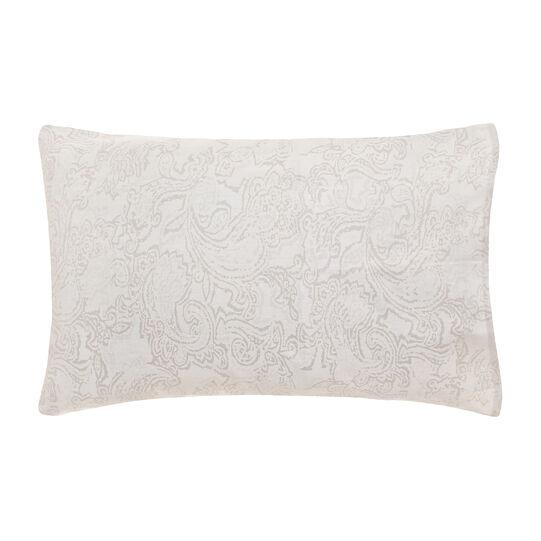Portofino paisley pillowcase in 100% cotton percale