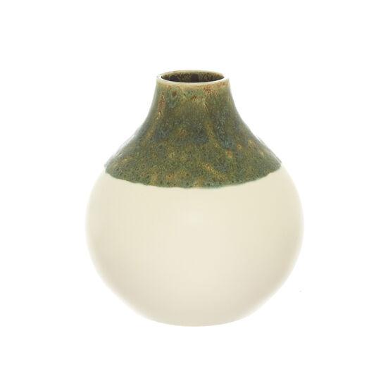 Vaso ceramica spagnola smalto reattivo